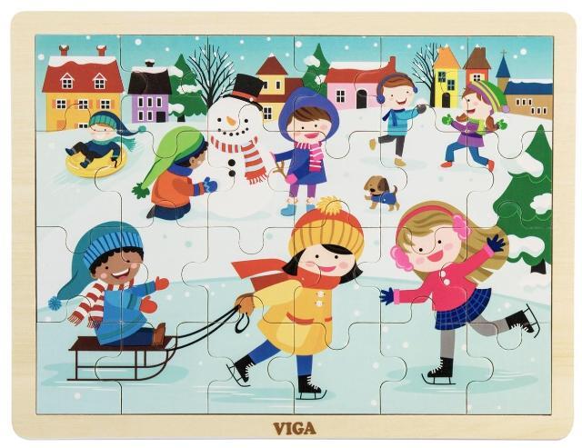 Детски пъзел-Зимна приказка-bellamie