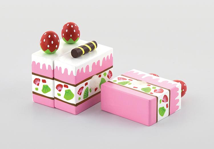 Детска ягодова торта -дървена играчка - Bellamie