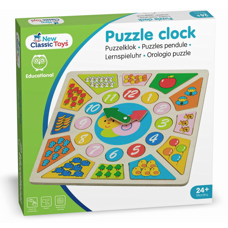 Детският образователен часовник и детски пъзел(1)-bellamie