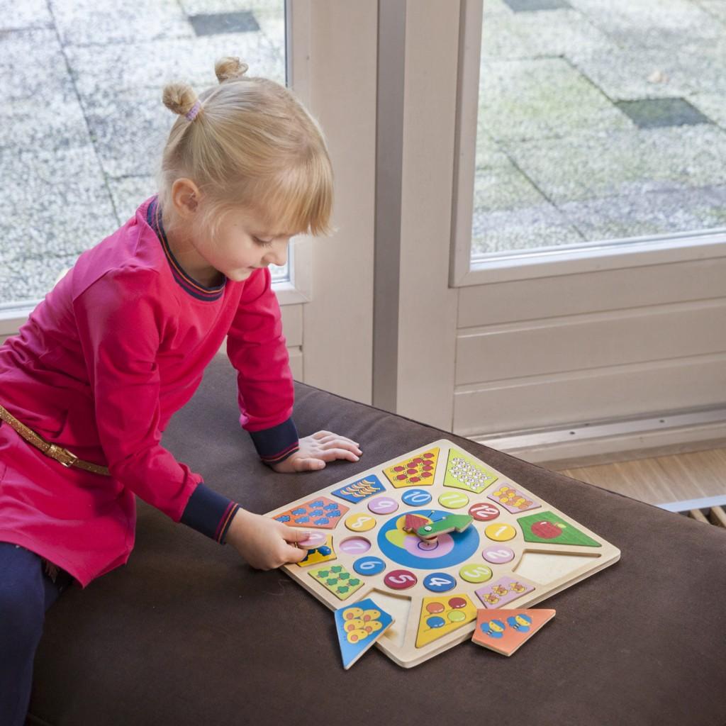 Детският образователен часовник и детски пъзел(3)-bellamie