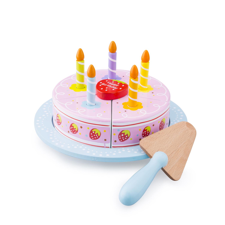 дървени играчки-детски играчки за момичета-ягодова торта-детска дървена кухня(1)-bellamie