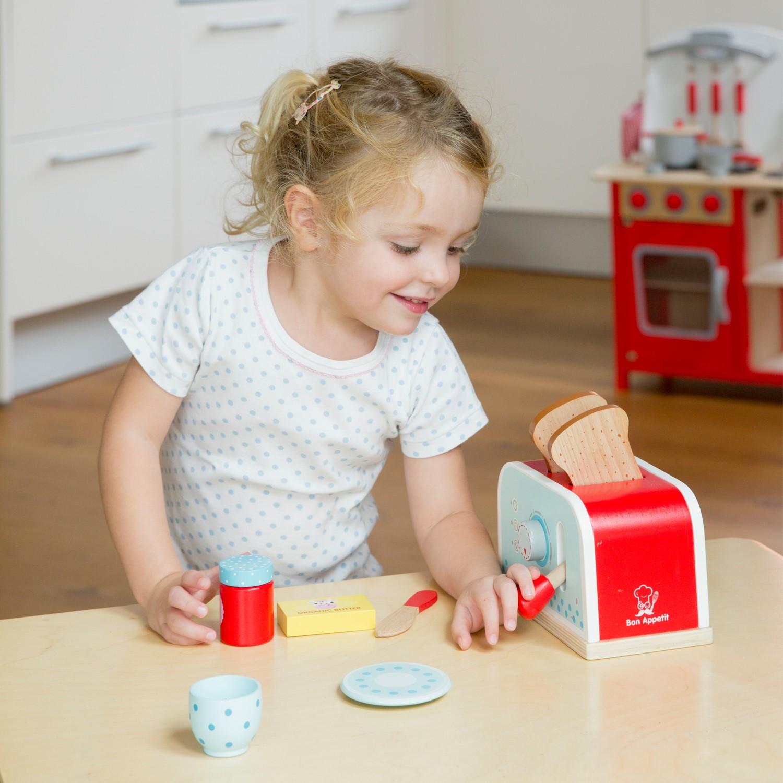 Тостер-Детски играчки за момичета-детска-дървена-кухня-ролеви игри(3)-Bellamie