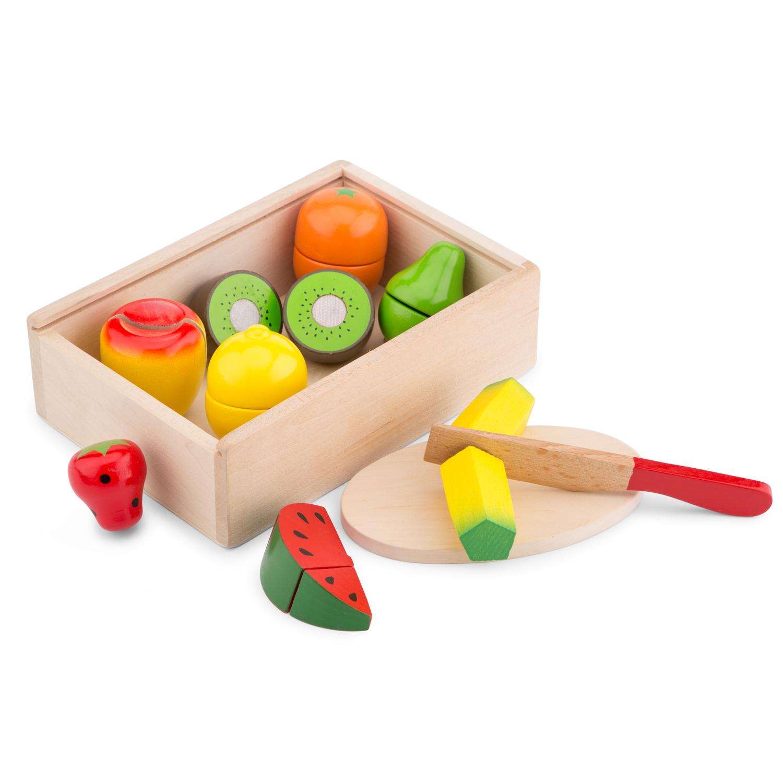 Плодове за рязане в кутия-аксесоари за детска дървена кухня-дървени играчки(1)-bellamie