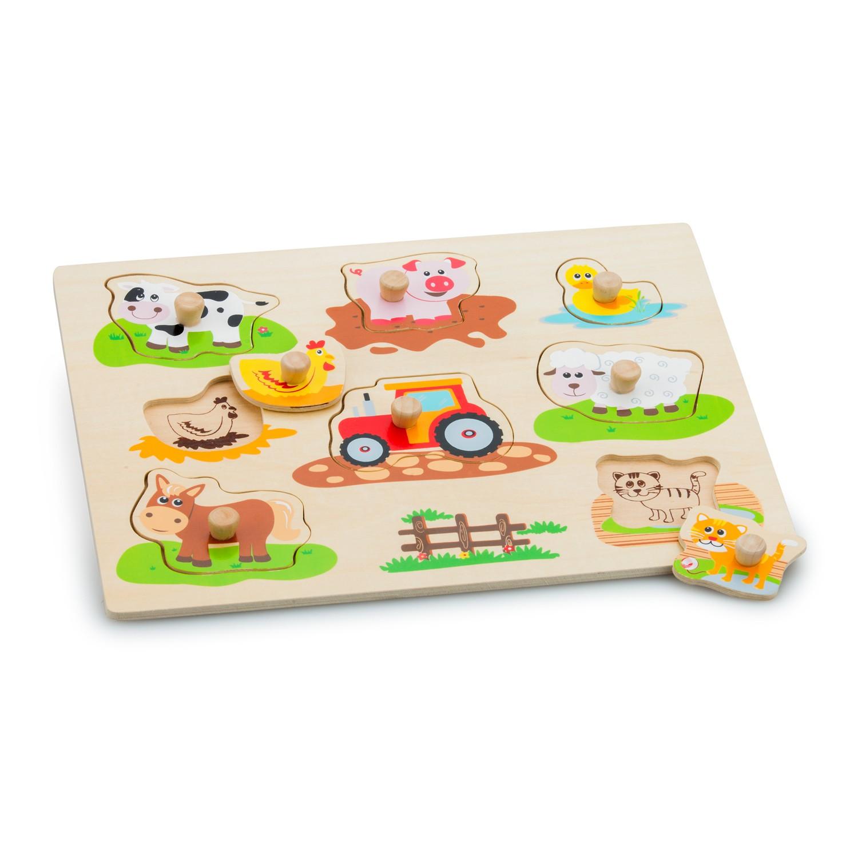 Детски пъзел- Живота в фермата(1)-Bellamie