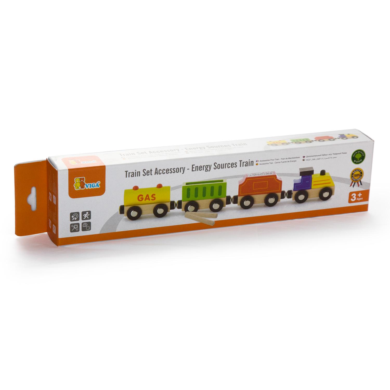 Детски дървен товарен влак-Viga(1)-Bellamie