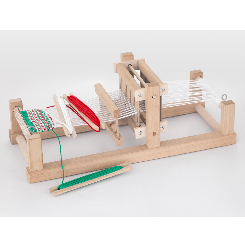 Детски дървен голяма стан за тъкане - образователни играчки от Viga toys-bellamiestore
