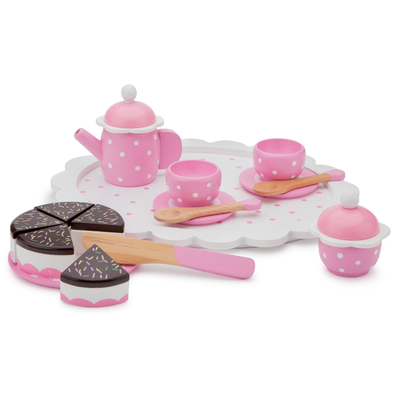 Детски играчки за момичета- дървен сервиз за кафе-аксесоар за детска дървена кухня-bellamie