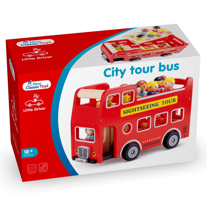 детски кубчета и сортери-дървен автобус за разходка-дървена играчка(3)-bellamie