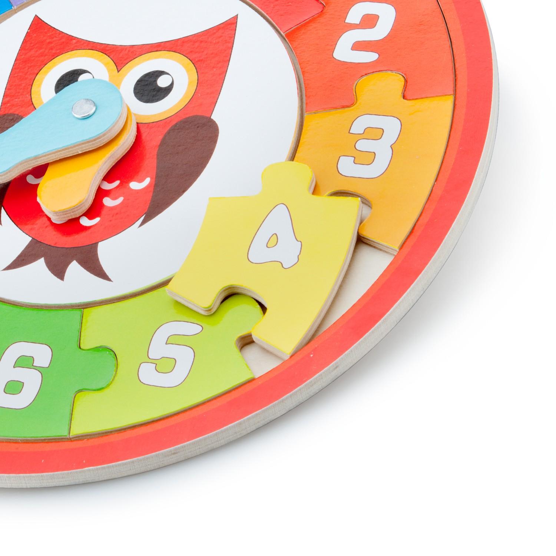 Детски пъзел и часовник-Бухал
