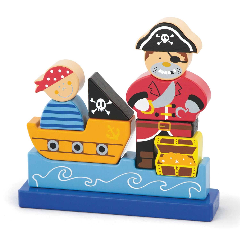 СъкровСъкровището на пирата-3D детски пъзел-Bellamieището на пирата-3D детски пъзел