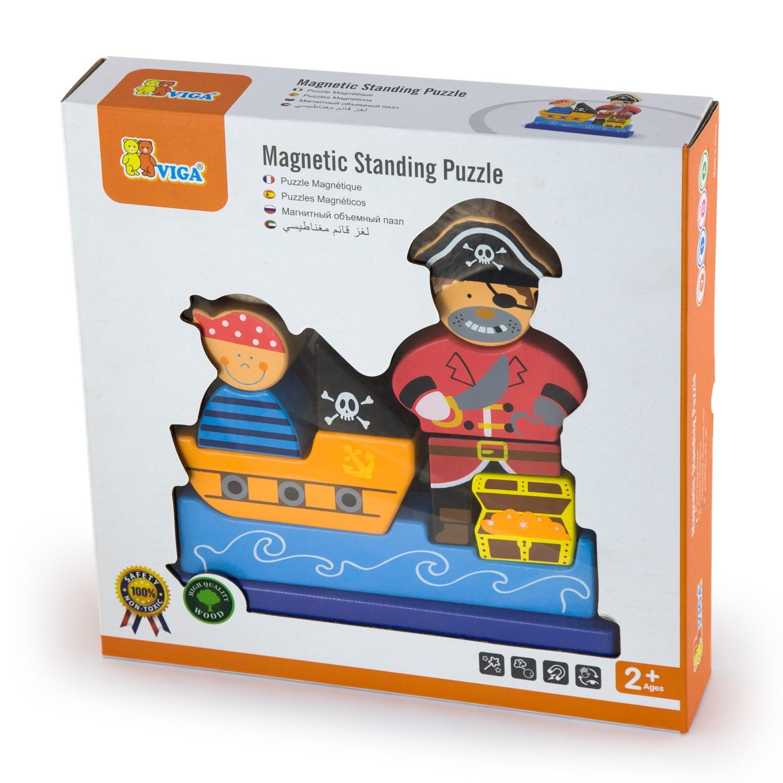 Кутия – Съкровището на пирата-3D детски пъзел-Bellamie