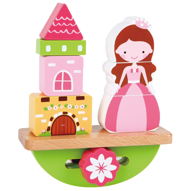 детски пъзел за баланс - Принцеса- дървена играчка-bellamie