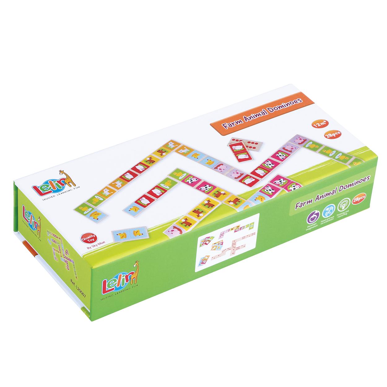 детско дървено домино-образователни играчки-дървена играчка(2)-bellamie