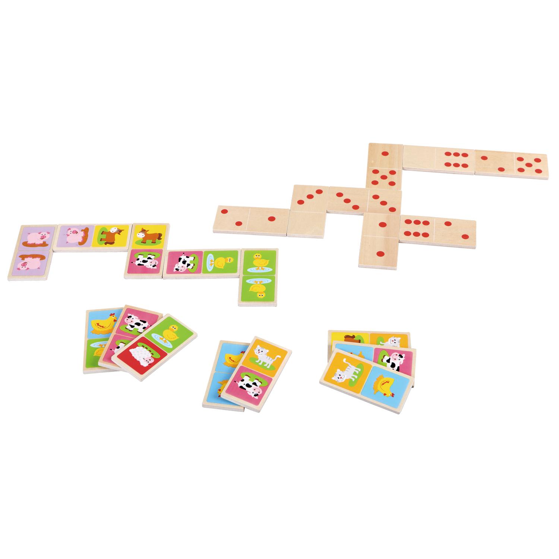 детско дървено домино-образователни играчки-дървена играчка(1)-bellamie