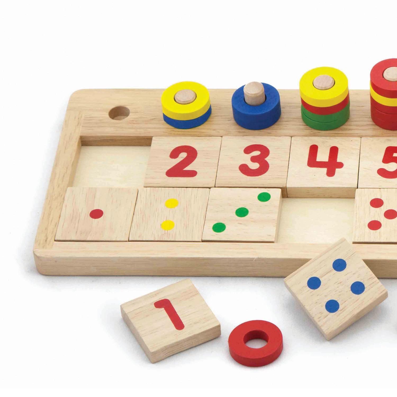 дървена играчка-да броим и учим числата-образователни играчки(2)-bellamie