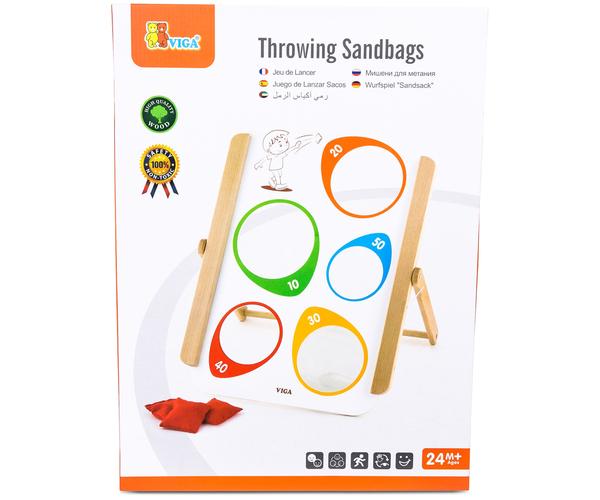 дървена играчка за координация с бобени торбички-образователни играчки (1)-bellamie