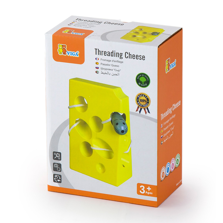 дървена играчка за нанизване - Сиренце- образователни играчки (1)-bellamie