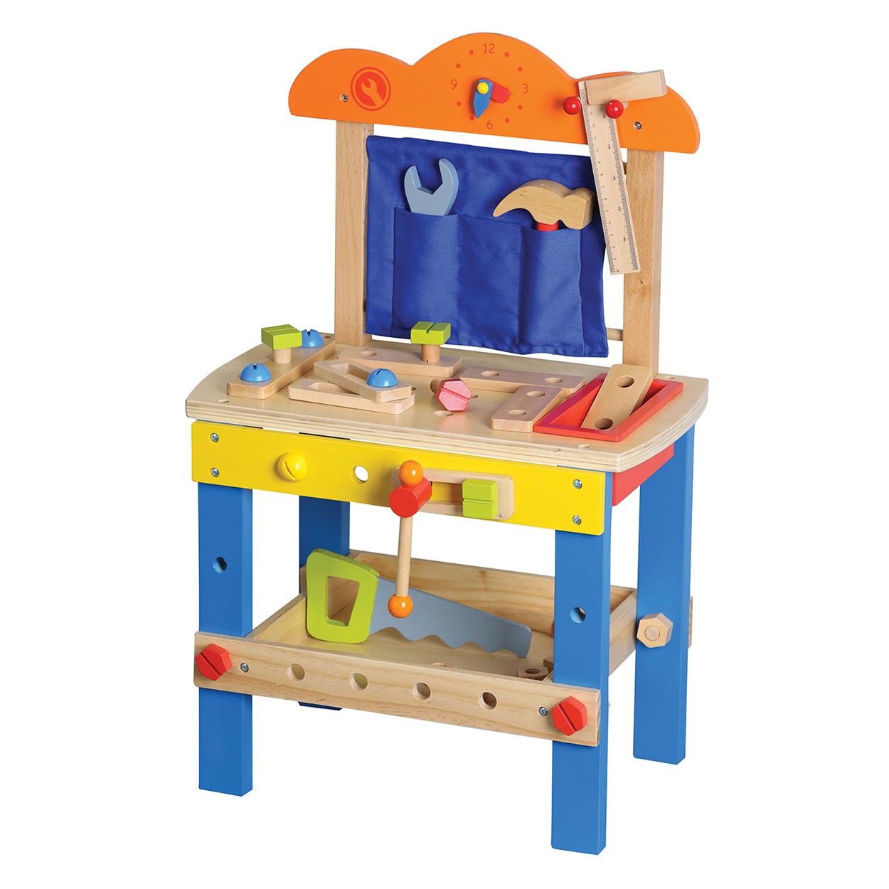 дървена работилница с инструменти - детски играчки за момчета-bellamie