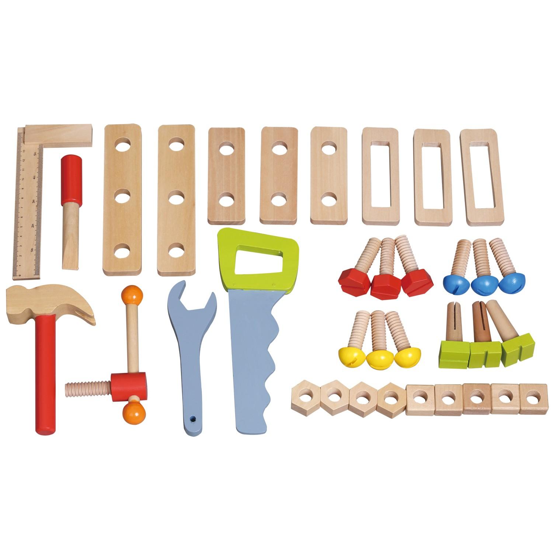 дървена работилница с инструменти - детски играчки за момчета(1)-bellamie