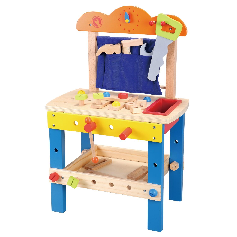 дървена работилница с инструменти - детски играчки за момчета(2)-bellamie