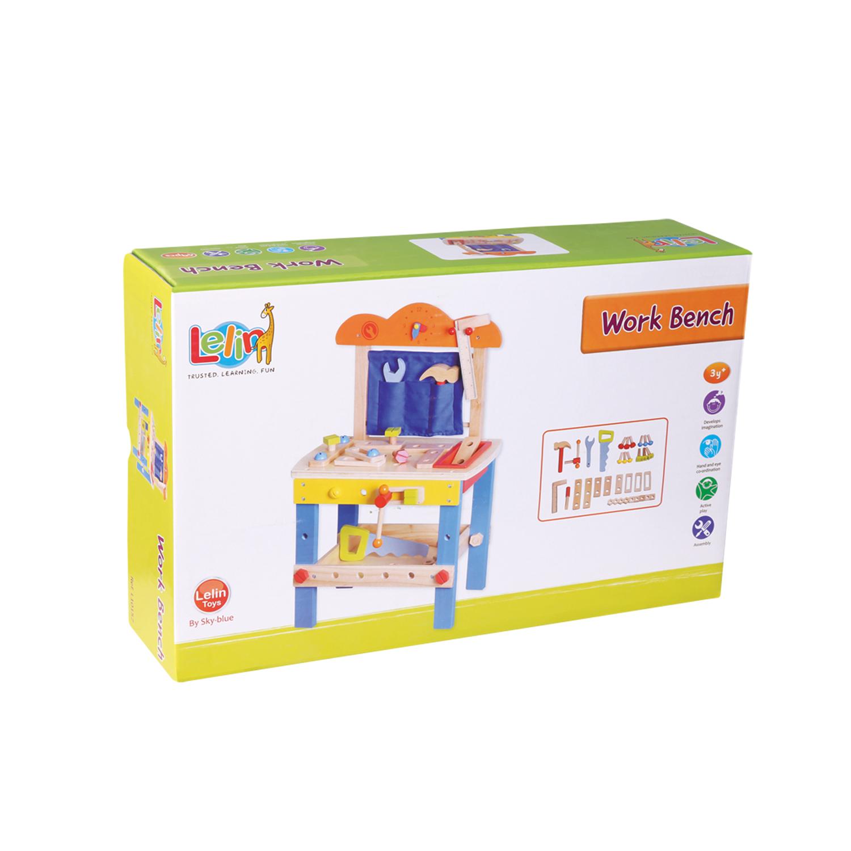 дървена работилница с инструменти - детски играчки за момчета(3)-bellamie