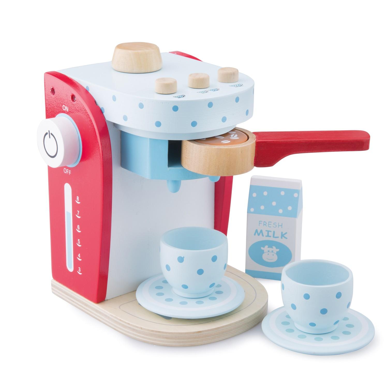 дървени играчки-аксесоар за детска дървена кухня-кафе машина- bellamie