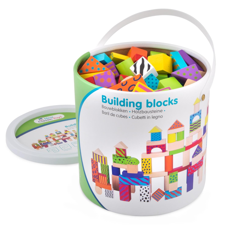 цветни дървени конструктори от 100 части-детски играчки за момчета и момичета (1)-bellamie
