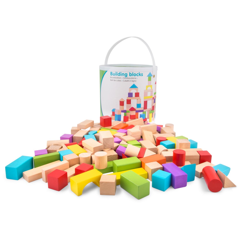 дървени конструктори от 100 части-детски играчки за момчета и момичета- bellamie