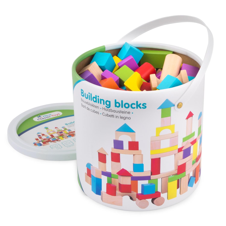 дървени конструктори от 100 части-детски играчки за момчета и момичета(1)-bellamie