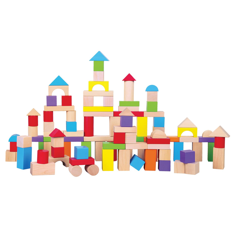 дървени конструктори от 100 части-детски играчки за момчета-bellamie