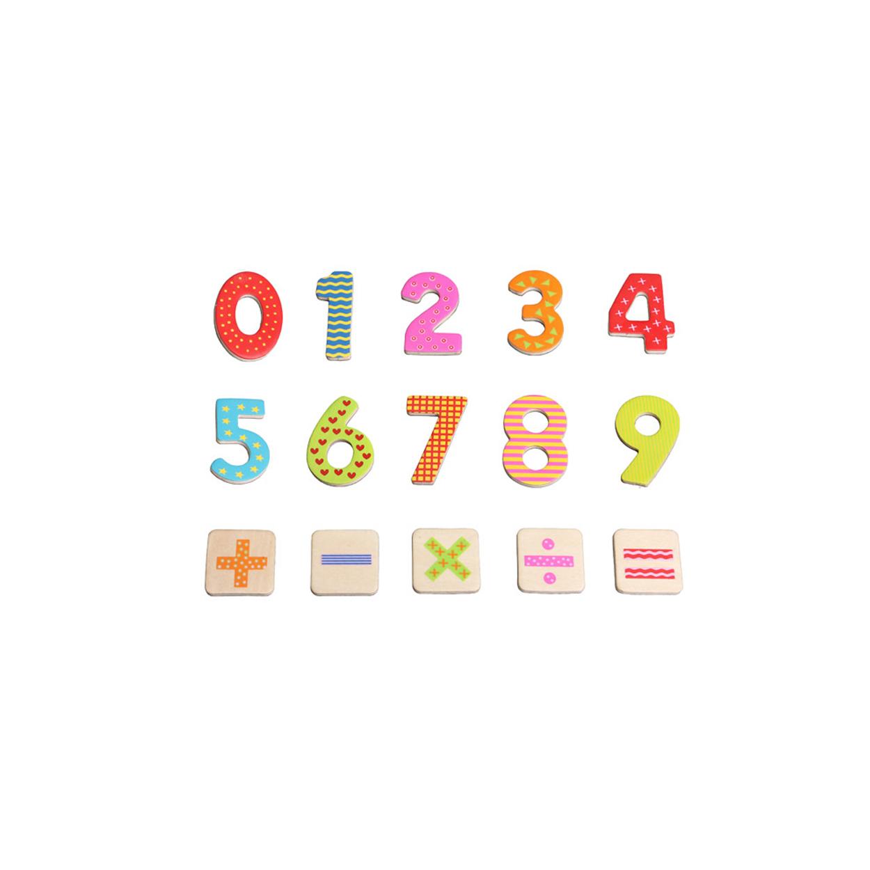 дървени магнитни цифри и знаци-60-броя-образователни играчки(1)-bellamie