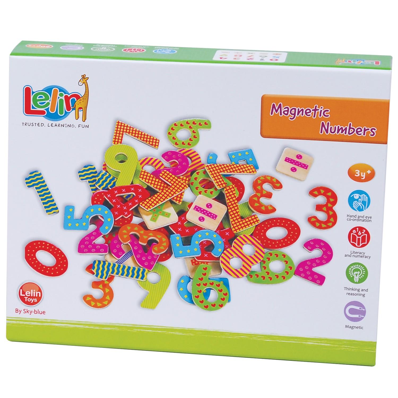 дървени магнитни цифри и знаци-60-броя-образователни играчки(2)-bellamie