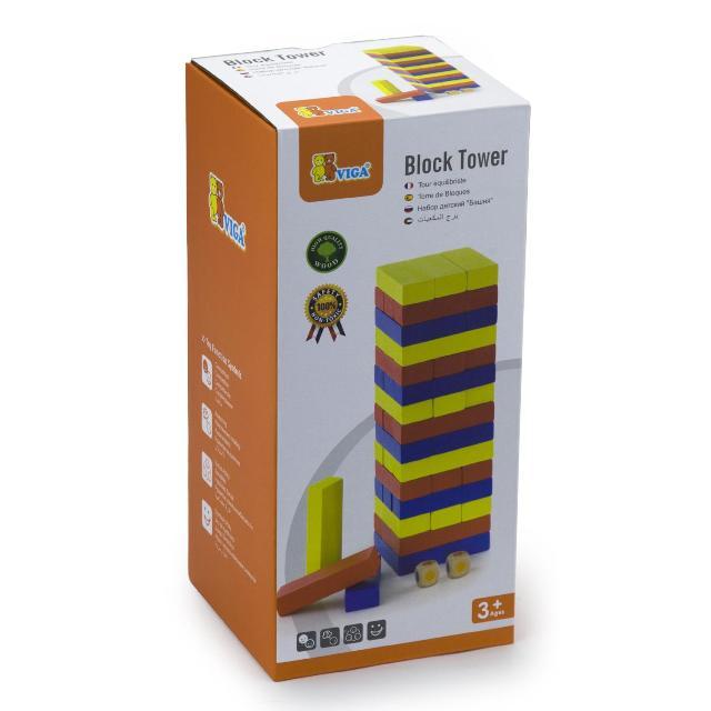 Дженга дървени образователни играчки(1)-bellamie