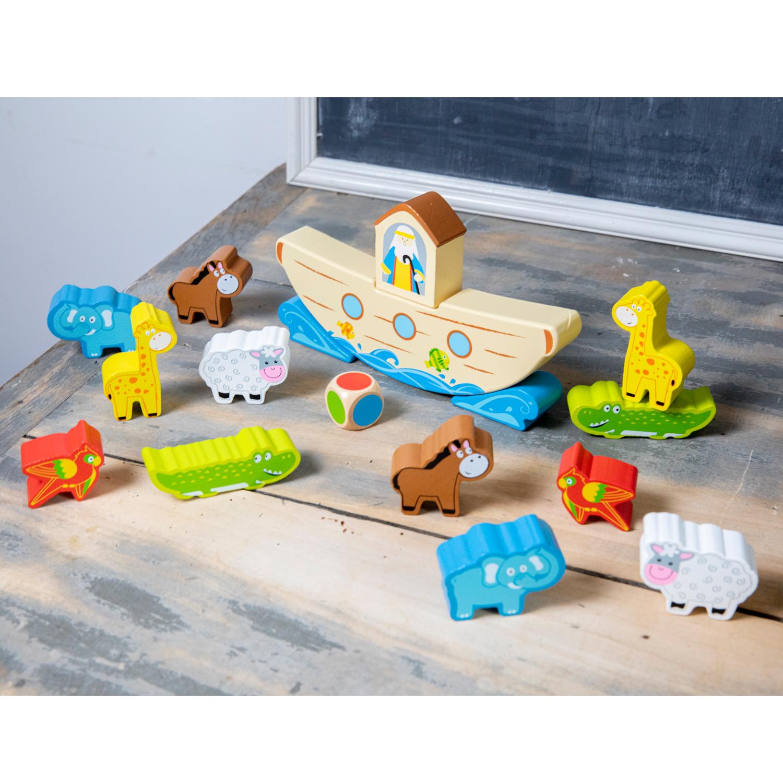 Игра за баланс - Кораба на Ной от New classic toys-bellamiestore