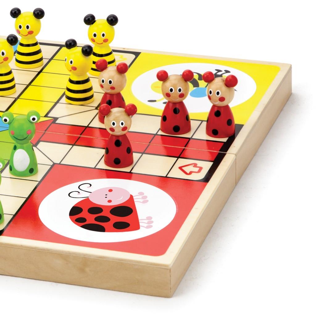 не се сърди човече - дървена играчка-образователни играчки(1)-bellamie