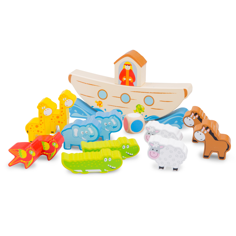 Кораба на Ной-дървена образователна играчка(1)-Bellamie
