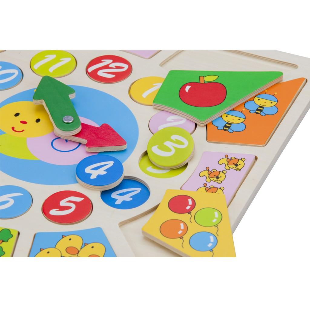 Детският образователен часовник и детски пъзел(2)-bellamie
