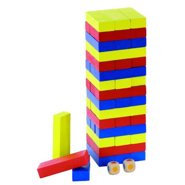 Дженга дървени образователни играчки(2)-bellamie