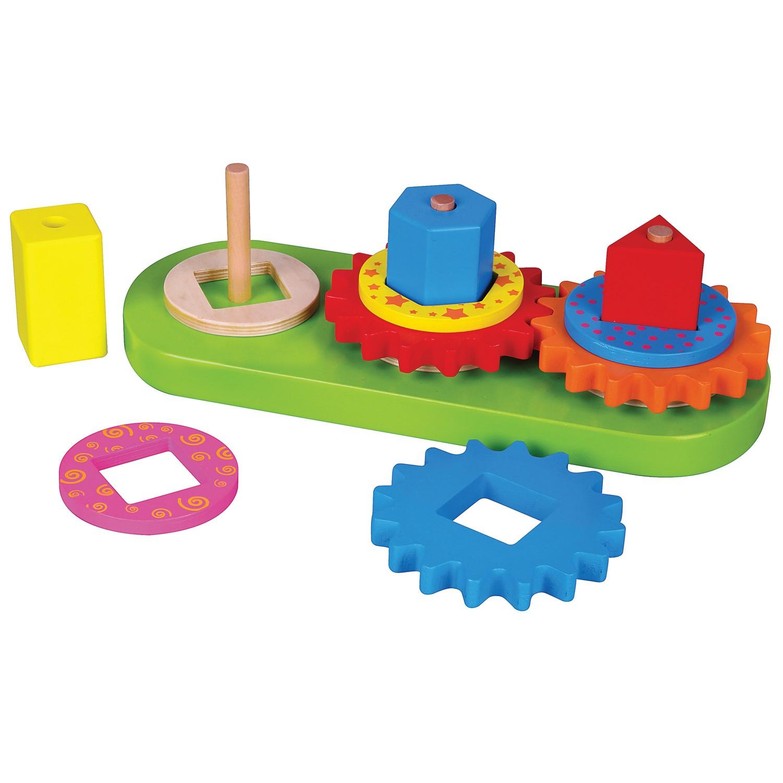 Образователна игра с геометрични форми
