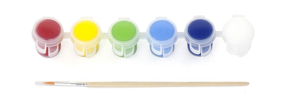 Творчески комплект - дървена дъска за рисуване Рибка от Viga toys-bellamiestore