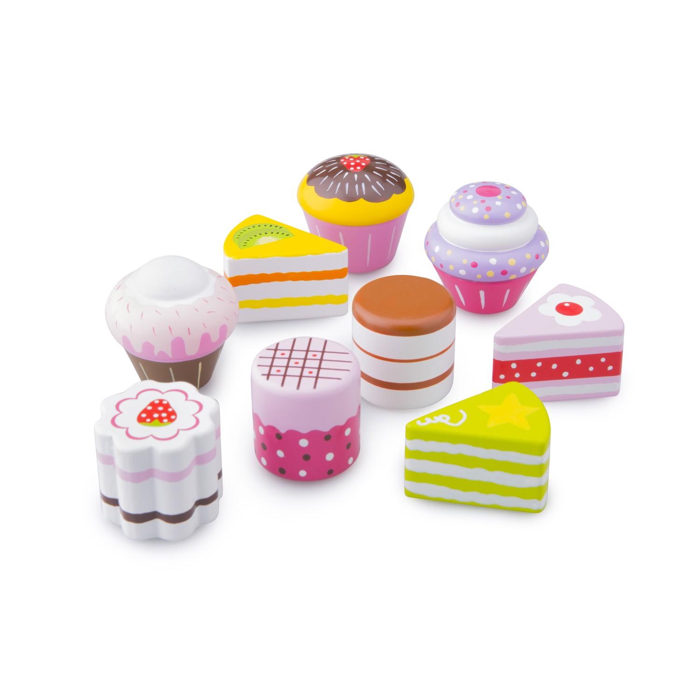 дървени играчки-детски играчки за момичета-комплект със сладкиши-детска дървена кухня(1)-bellamie