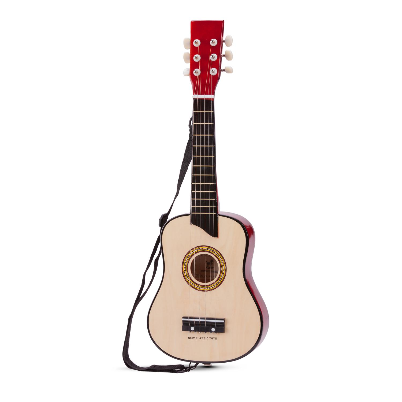 Класическа дървена китара-детски музикални инструменти(1)-Bellamie