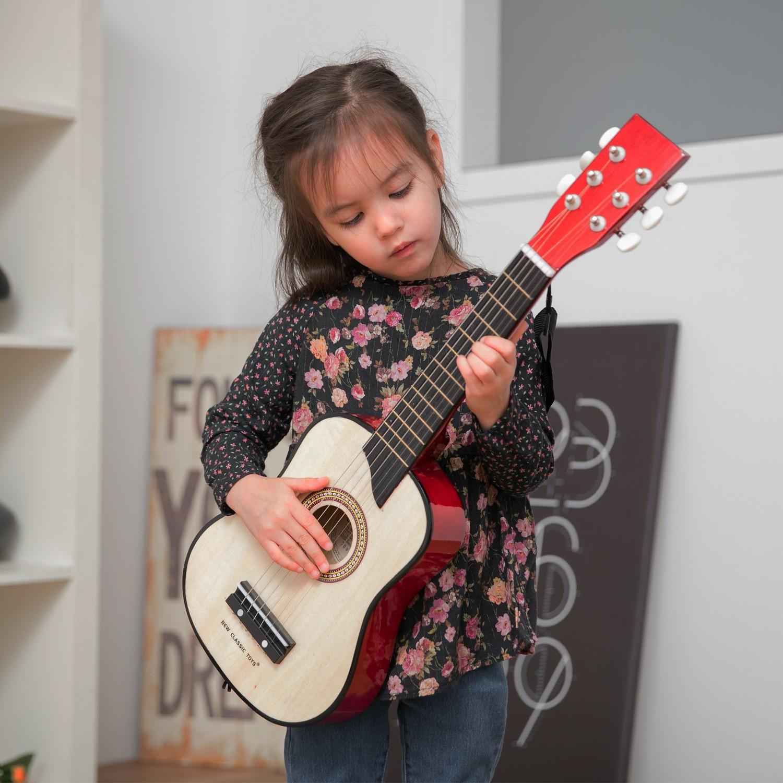 Класическа дървена китара-детски музикални инструменти-Bellamie