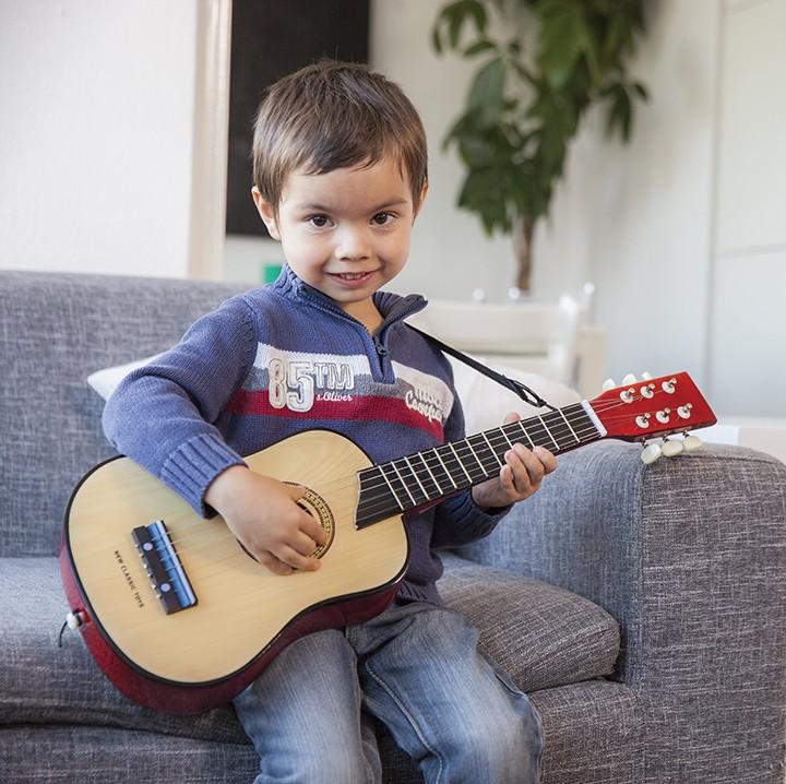 Класическа дървена китара-детски музикални инструменти(3)-Bellamie