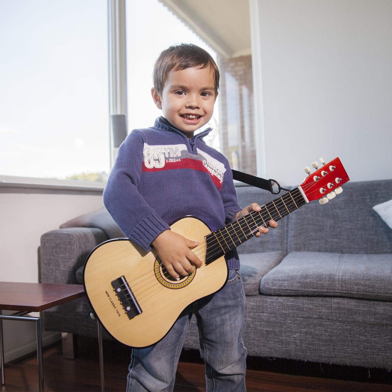 Класическа дървена китара-детски музикални инструменти(4)-Bellamie