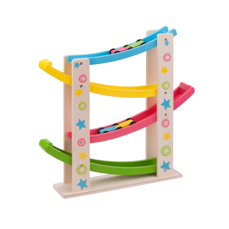 Дървена писта за коли-детски играчки за момчета-Bellamie