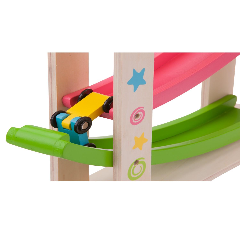 Дървена писта за коли-детски играчки за момчета(1)-Bellamie