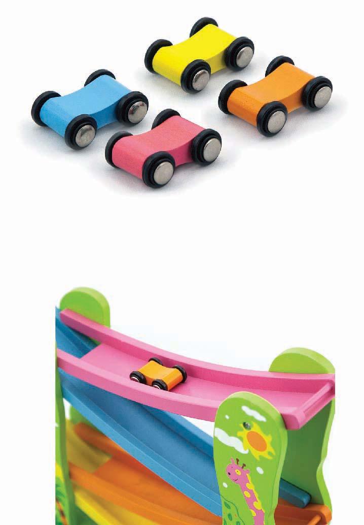 Писта за спускане Джунгла - дървена играчка от Viga toys(1)-bellamiestore