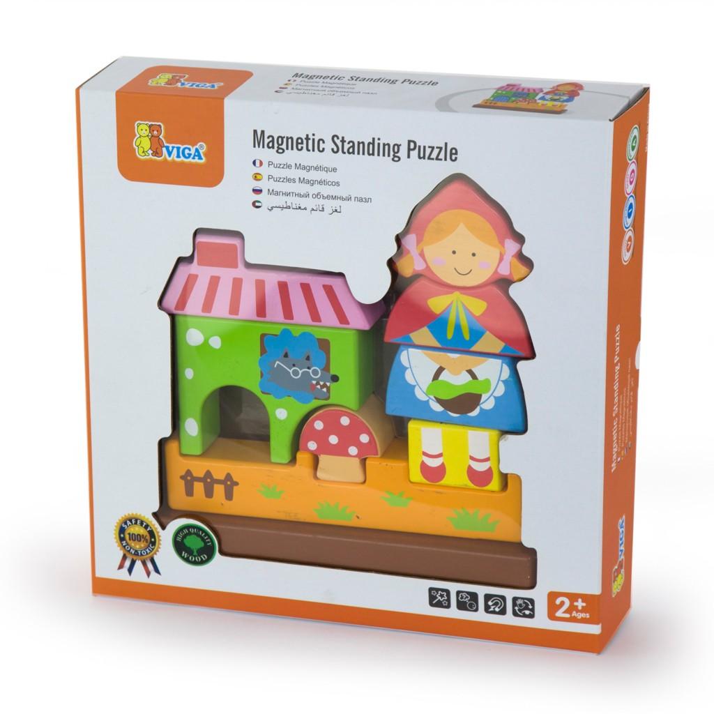 Детски пъзел Червената шапчица-3D-Viga toys-Bellamie