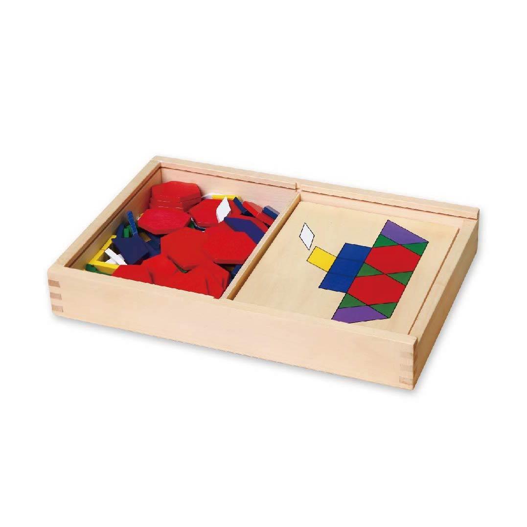 дървена цветна мозайка-образователни играчки(1)-bellamie